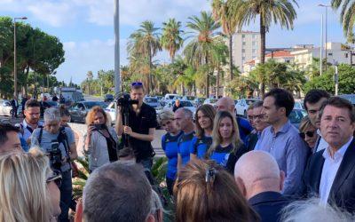 Prom'Verte – Rénovation promenade et plantation arbre par le Maire Christian ESTROSI